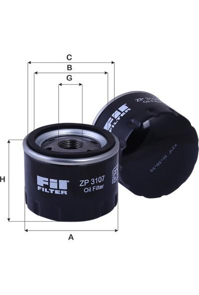 Fil Filter Renault Yağ Filtresi 8200768927 Zp 3107