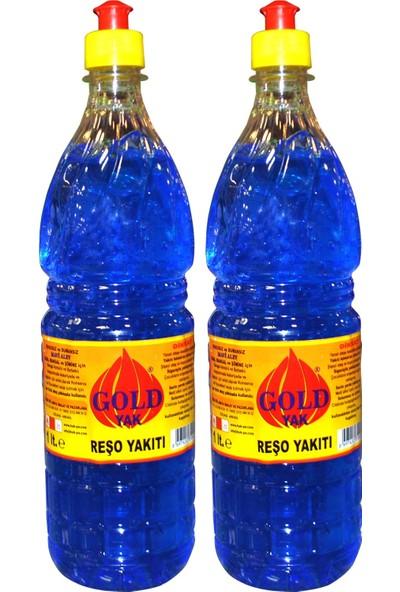 Gold Yak Reşo Yakıtı Jel Mangal Soba Tutuşturucu 1 lt 2'li