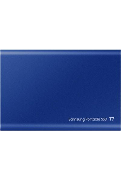 Samsung T7 500 GB Taşınabilir SSD Mavi MU-PC500H/WW