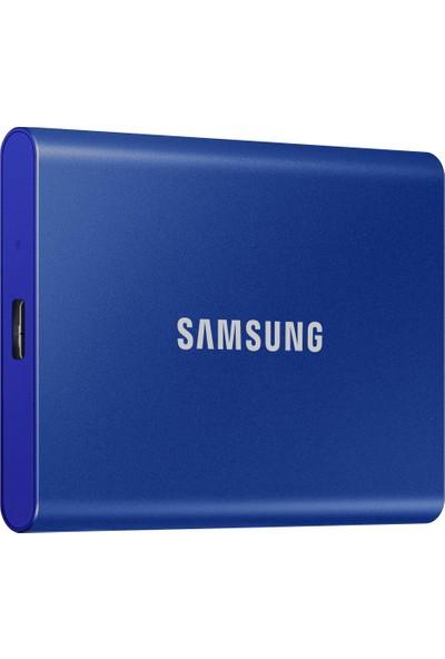 Samsung T7 2TB Taşınabilir SSD Mavi MU-PC2T0H/WW