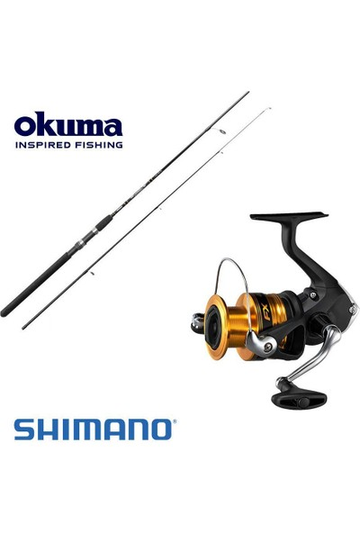 Shimano Fx 3000 Olta Makinesi Okuma Gforce 270 7-35 gr Spin Set