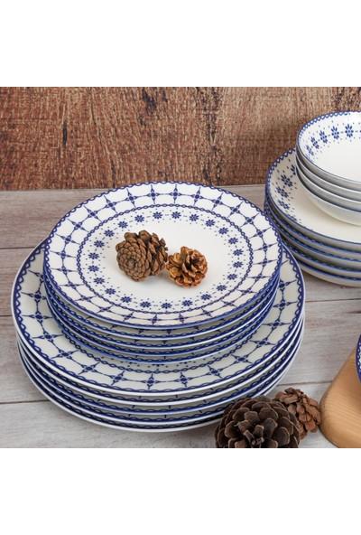 Güral Porselen Güral 24 Parça Atina Yemek Takımı 1614