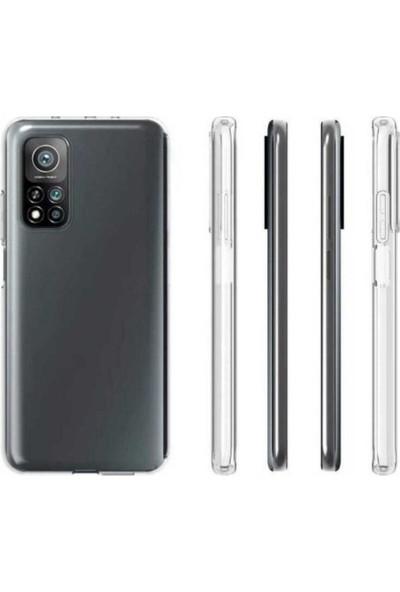 Case 4U Xiaomi Mi 10T Pro Kılıf Süper Silikon Arka Kapak Şeffaf