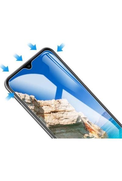 Case 4U Samsung Galaxy M21 Cam Ekran Koruyucu Temperli Şeffaf