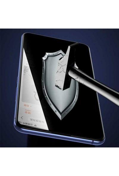 Case 4U Oppo Reno 2Z Cam Ekran Koruyucu Tam Kaplayan Hayalet Privacy Siyah