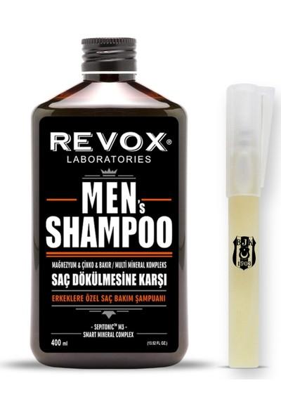 Revox Beşiktaşlı Erkeklere Özel Revox Men Şampuan + Beşiktaş Kalem Parfüm
