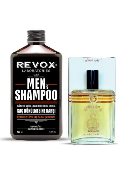 Revox Galatasaraylı Erkeklere Özel Revox Men Şampuan + Galatasaray Parfümü 100 ml