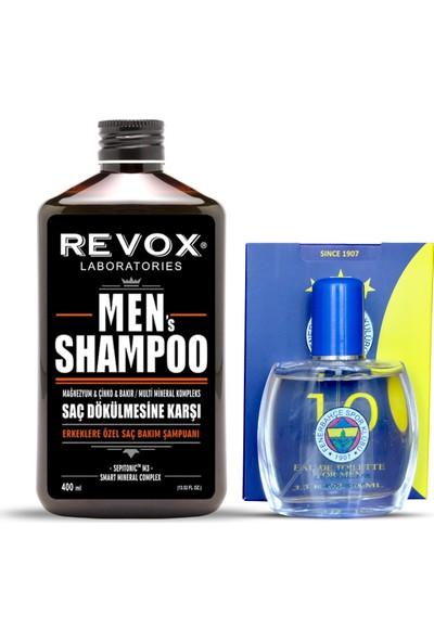 Revox Fenerbahçeli Erkeklere Özel Revox Men Şampuan+Fenerbahçe Parfümü 100 ml