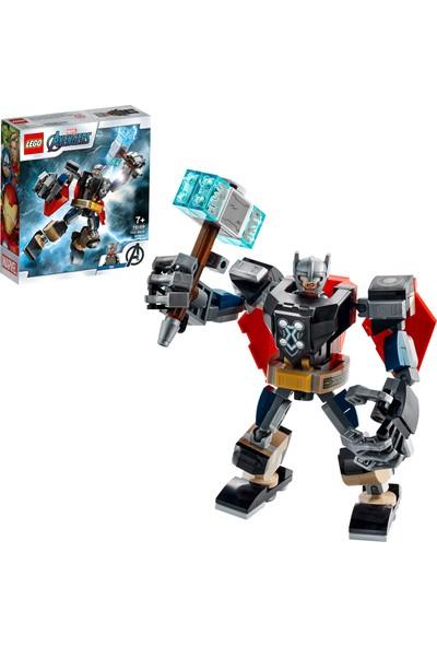 LEGO® Marvel Avengers Klasik Thor Robot Zırhı 76169 - Çocuklar için Süper Kahraman Oyuncak Yapım Seti (139 Parça)