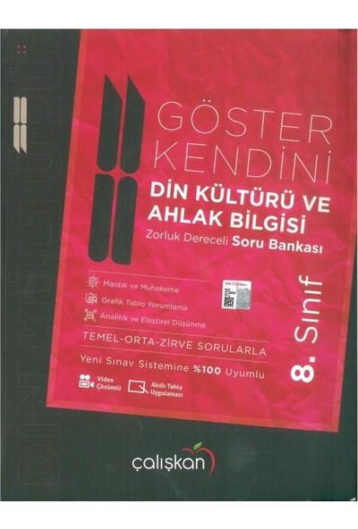Çalışkan Yayınları 8. Sınıf Göster Kendini Din Kültürü Soru Bankası