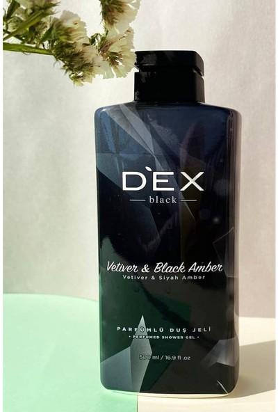 Dex Amber ve Güve Otu Kokusu Duş Jeli 500 ml x 2