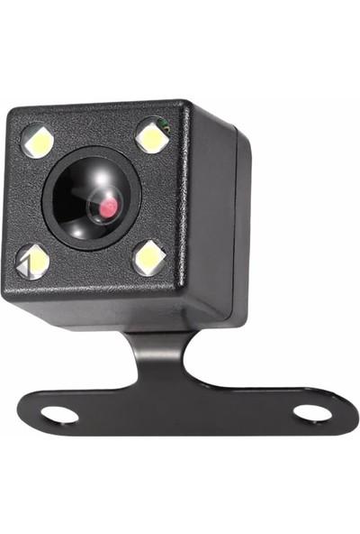 Tozkoparan Gece Görüşlü Hd Mesafe Çizgili Su Geçirmez Audio Araç Geri Görüş Kamerası