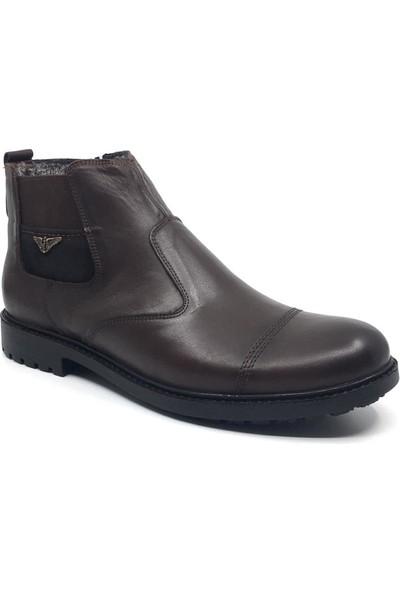 Çetintaş Deri Erkek Kışlık Bot 45-46-47-48 Ayakkabı
