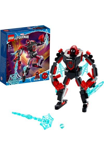 LEGO® Marvel Örümcek Adam Miles Morales Robot Zırhı 76171 - Çocuklar için Koleksiyonluk Oyuncak Yapım Seti (125 Parça)