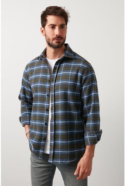 Buratti Ekoseli Uzun Kollu Oduncu Gömlek Erkek Gömlek 5910080