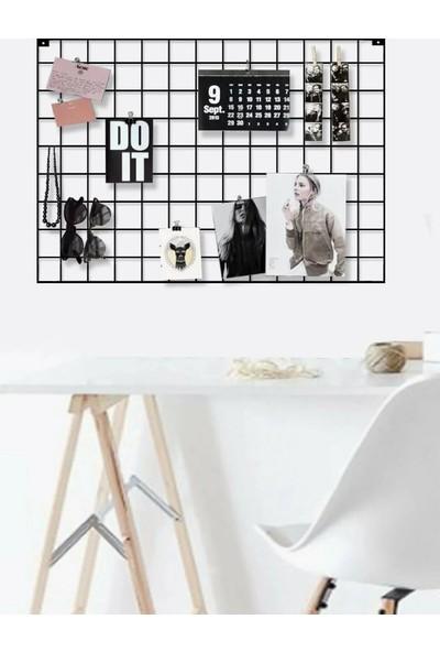 Vip Home Concept Fotoğraf Askısı Tel Askılık Metal Pano Duvar Askılığı