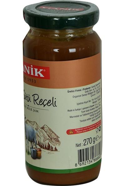 Ganik Keçi Sütü Reçeli Glutensiz 270 gr