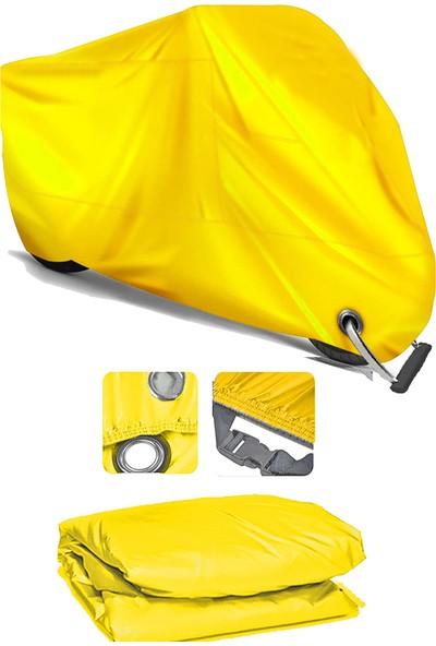 Coverplus Lifan Lf200Gy-2 Motosiklet Brandası Motor Branda - Sarı