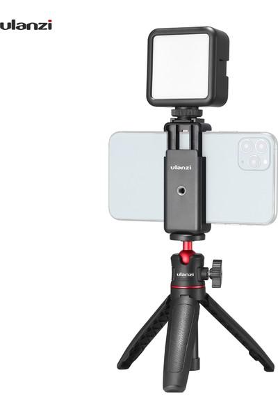 Ulanzi Özçekim Çubuğu ile Telefon Video Vlog Kiti Tripod