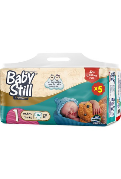 Baby Still Bebek Bezi 1 Beden 5'li Fırsat Paket - 180'LI