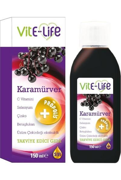 Vite Life Karamürver Şurubu Takviye Edici Gıda 150 ml