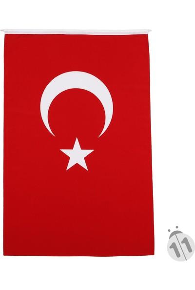 BAYRAKAL Türk Bayrağı Alpaka Kumaş 100 x 150 cm