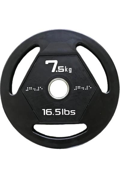 313 Spor 7,5 kg Kauçuk Kaplı Ağırlık Plakası
