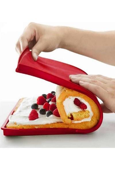 Globy Silikon Rulo Pasta Pişirme Kalıbı, Mat 39X29 cm