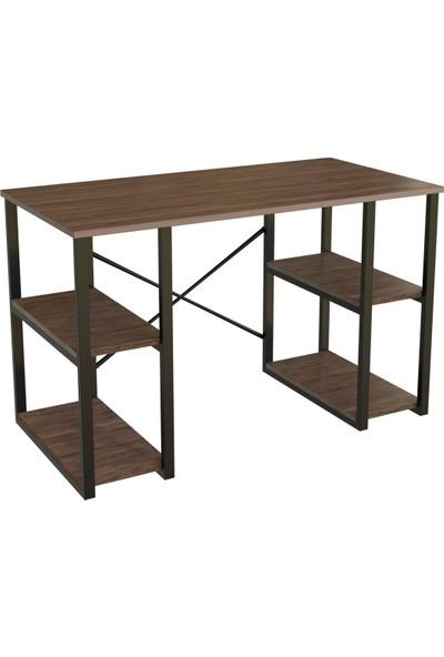 Sarıncı 4 Raflı Çalışma Masası 60X120-CEVIZ