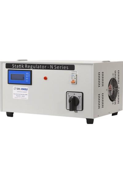 Siel Enerji 15 Kva Monofaze Statik Voltaj Regülatörü