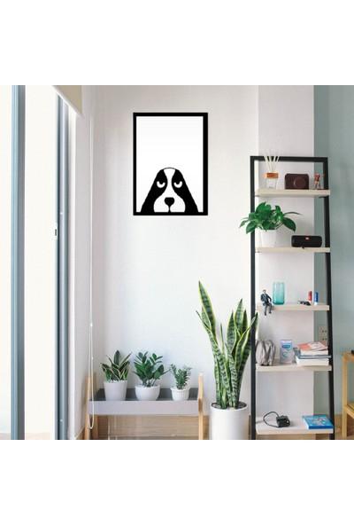 Omart Design Köpek Metal Duvar Aksesuarı