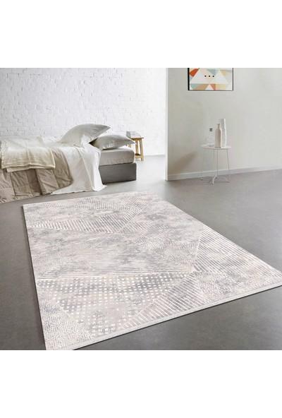 Payidar Halı Tarz 2952A 80X150 cm Gri/beyaz Modern Halı