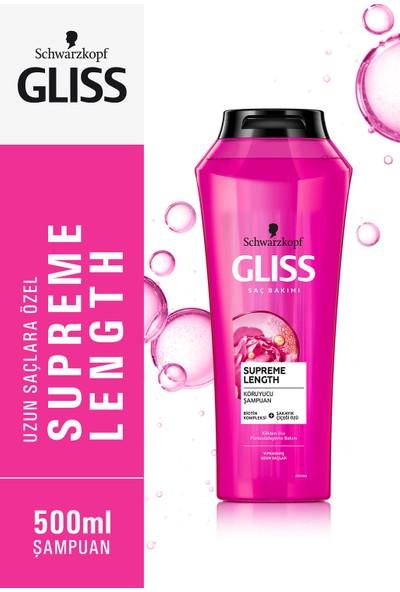 Schwarzkopf Gliss Supreme Length Şampuan 500 ml