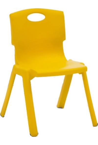 Romanoset Plastik Romanoset Bambino Renkli Plastik Çocuk Sandalyesi