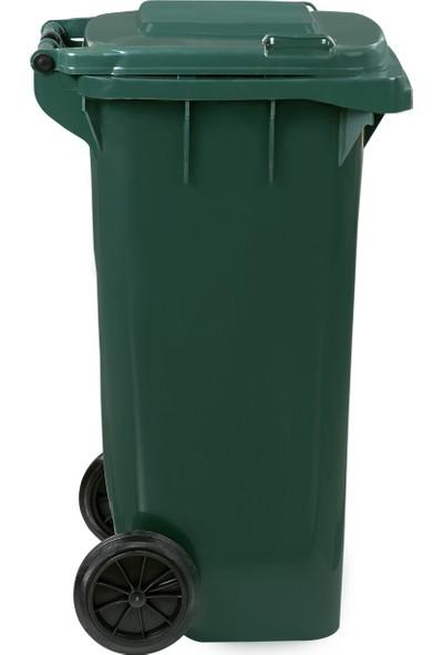 Romanoset Plastik Tekerlekli Atık ve Çöp Konteyneri 120 lt