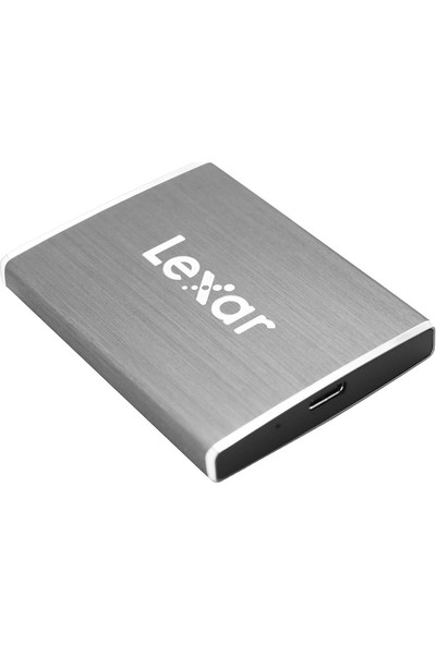 Lexar SL100 512GB 550-400MB/s USB 3.1 Type-C Taşınabilir SSD LSL100-512RB