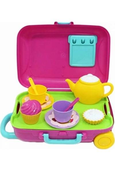 Dede Oyuncak Mutfak Çay Seti Bavulum