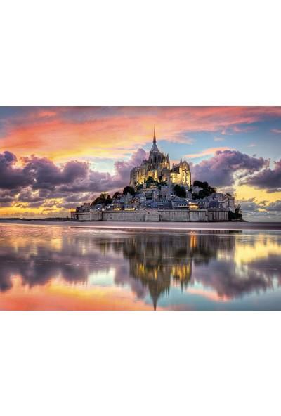 Clementoni 1000 Parça Fransa Mont Saint Michel Manastırı Puzzle