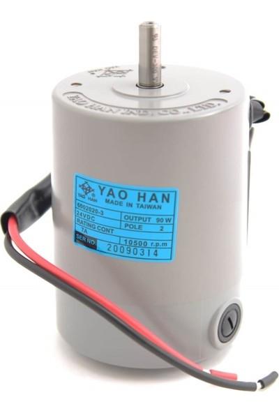 Yaohan Çuvalağzı Dikiş Makinesi Motoru 24V / 6002006-3M (6002020-3)