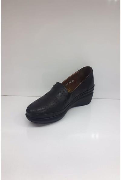 Forex 01005 Kadın Deri Günlük Comfort Ayakkabı