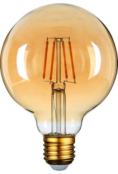 Heka ERD86 G95 Glop Edison Flamanlı Rustik Led Ampul