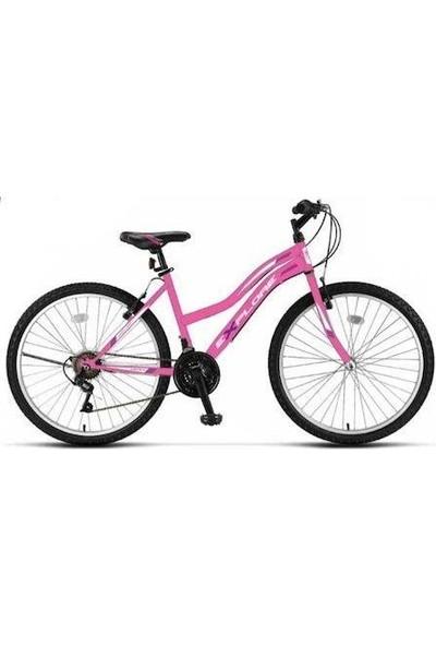 Ümit 2434 Explorer Bayan Dağ Bisikleti V 24 Jant 21 Vites Pembe