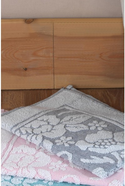 Riva Flora Ayak Havlusu 3'lü Paket Banyo Paspası