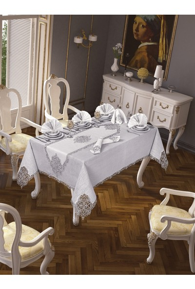 Ceki Home 26 Parça Elegant Masa Örtüsü Seti