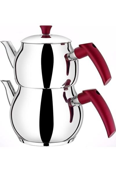 Viola Çelik Çaydanlık Seti