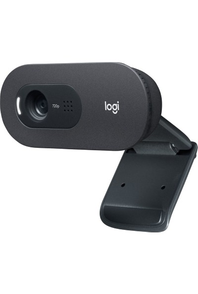 Logitech C505 HD Webcam - Siyah
