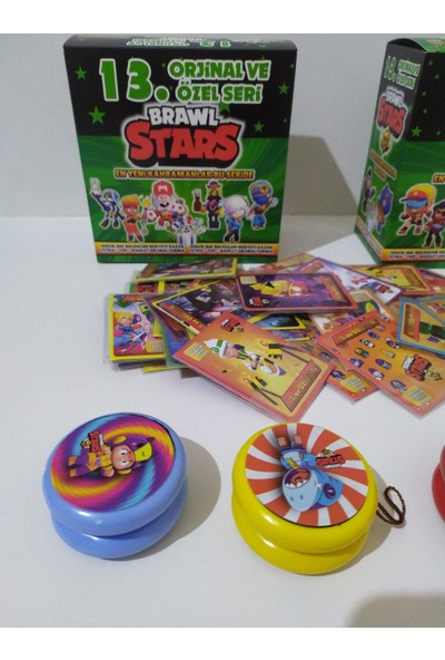 Brawl Stars 13. Seri 450'li Kart +3 Yo-Yo