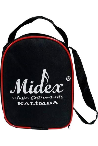 Midex KLX-501CS Full Ağaç Paslanmaz 17 Çelik Tuş Kalimba (Çantalı)