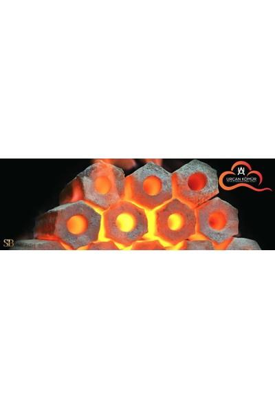 Urcan Ceren Mangal Briket Lüks Mangal Kömürü 20 kg
