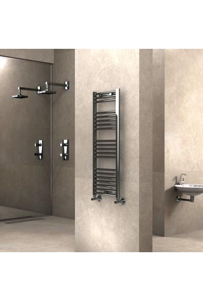 Radiva Banyo ve Mutfak Için Havlupan 400X1100 Düz Krom